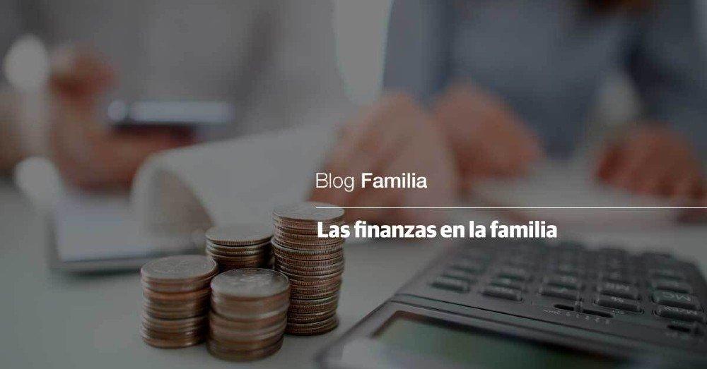 las finanzas en la familia