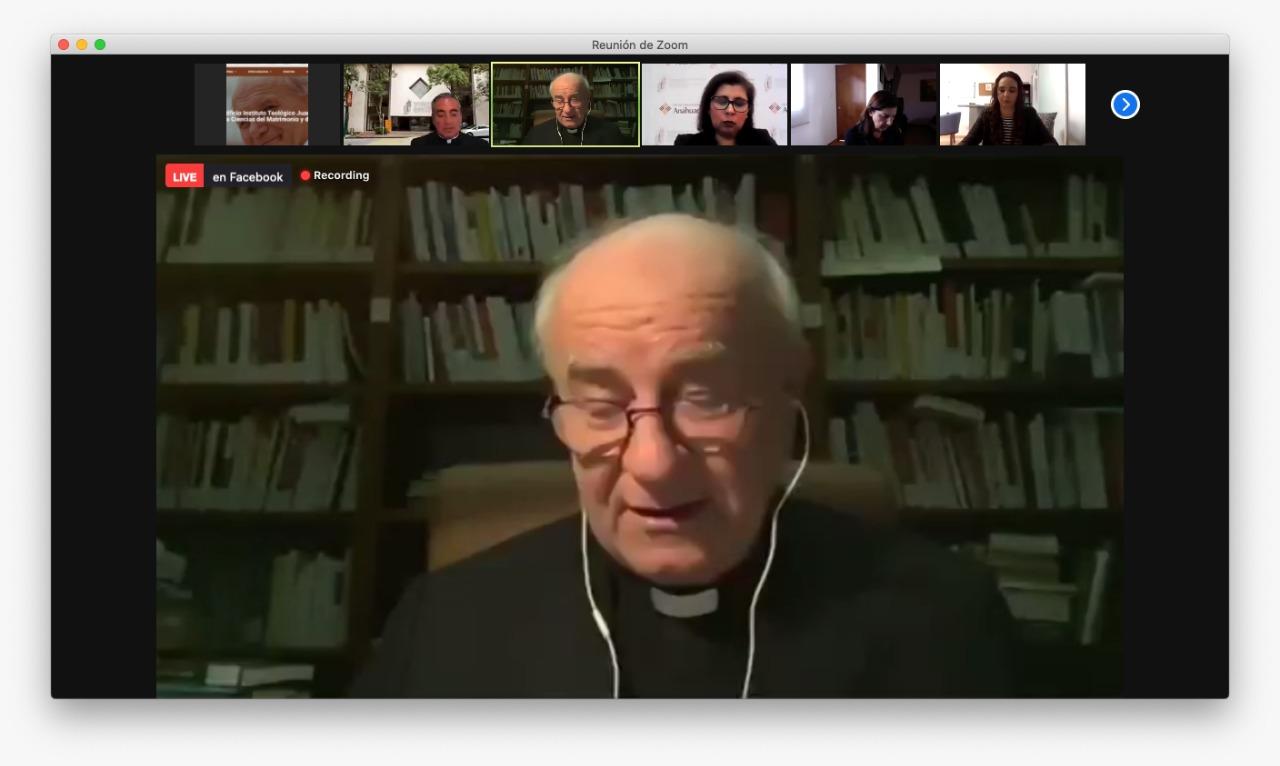 Mons Vicenzo Paglia Amoris Letitia: hacia una teologia de la familia